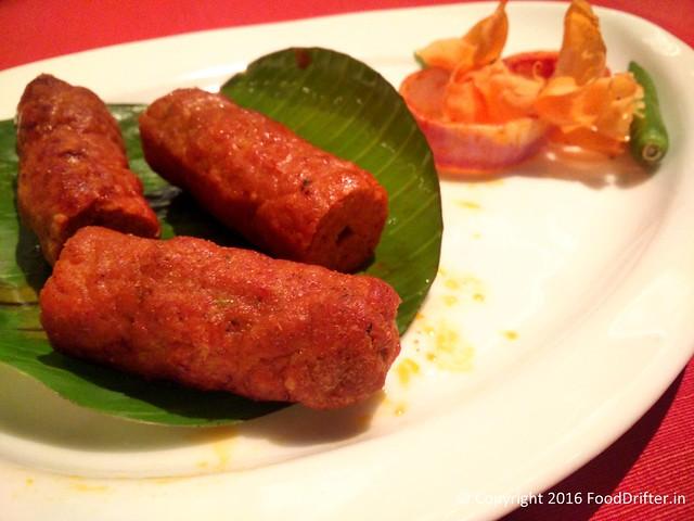 Rampuri Seekh Kebab