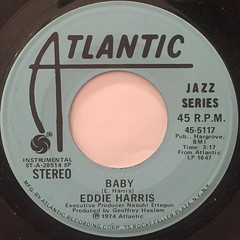 EDDIE HARRIS:I'VE TRIED EVERYTHING(LABEL SIDE-B)