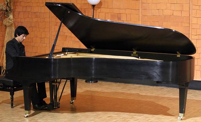 """CONCIERTO DE PIANO DE JORGE NAVA - CICLO JUVENTUDES MUSICALES - AUDITORIO """"ÁNGEL BARJA"""" DEL CONSERVATORIO DE LÉON - 19 DE ABRIL´16"""