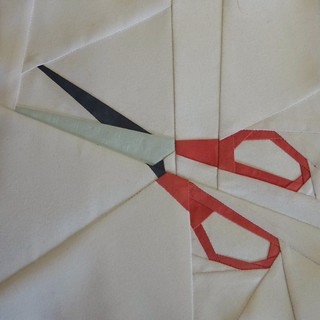 "Scissors 6"" for mom's quilt"