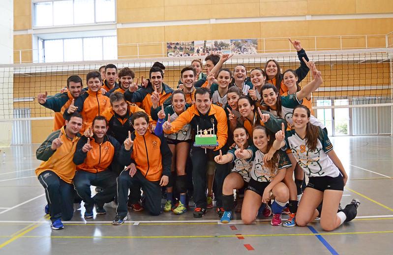 Finales CADU Voleibol 2015/2016
