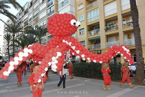 """Carnaval Denia 2016 """"Bajo el Mar"""""""