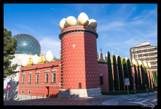 Girona Roses Cadaqués Figueres Peralada - Teatro-Museo Dalí