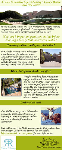 3 Points to Consider Before Choosing A Luxury Malibu Recovery Center