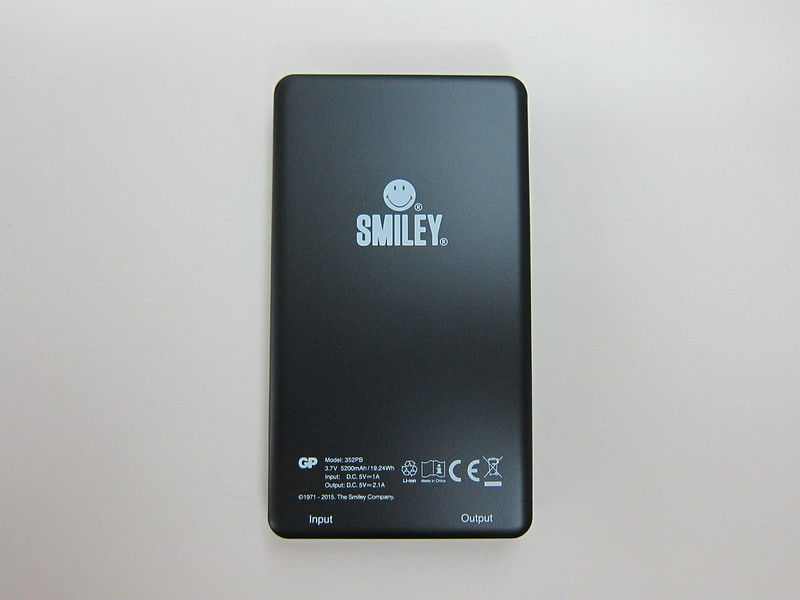 GP x Smiley Special Edition PowerBank - Back