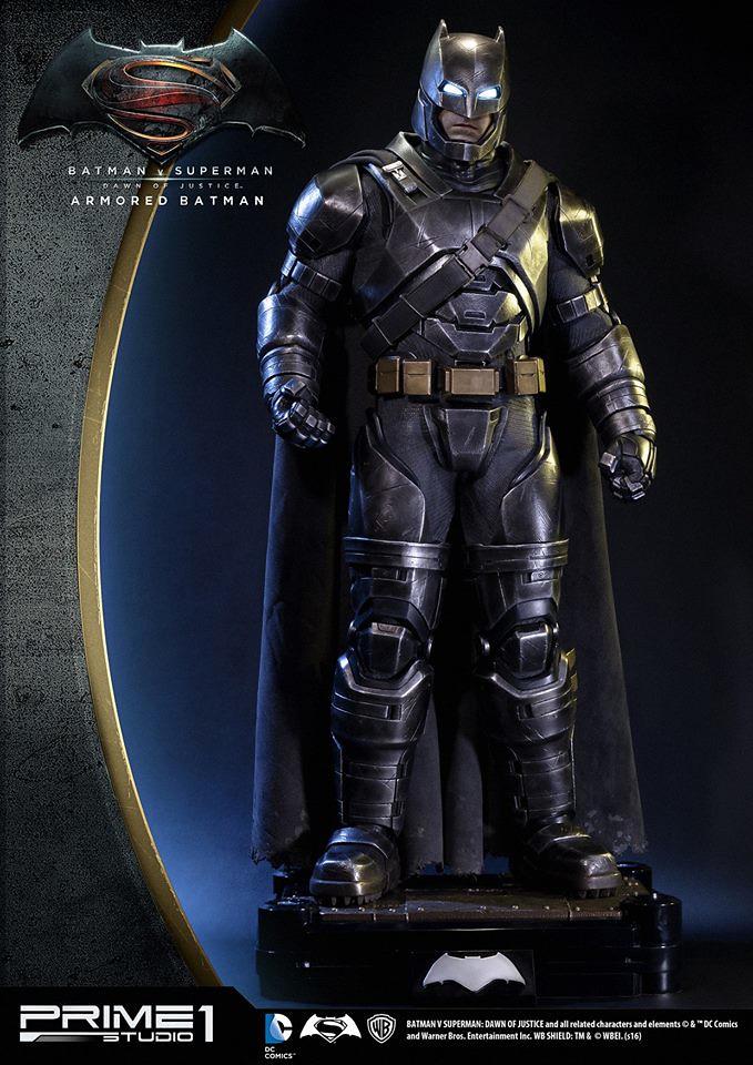 Prime 1 Studio【重裝蝙蝠俠】Armored Batman 1/2 比例超巨大全身雕像