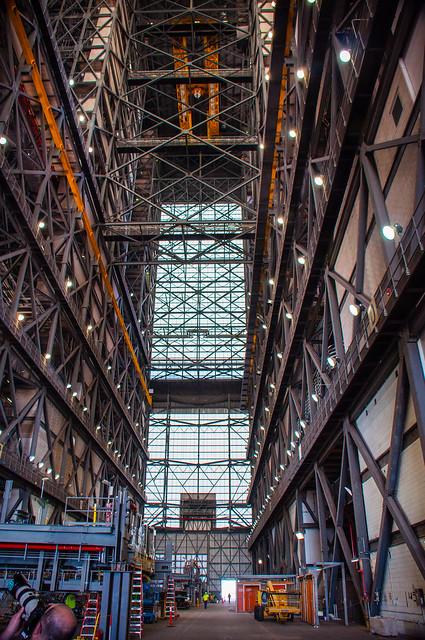 Inside VAB