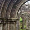 Ruined abbey arches / #outandabout #frenchfinds #Scotland
