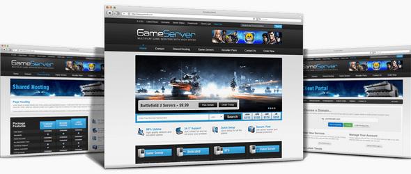 WHMCSThemes Game Server v5.x