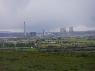 Didcot Power Station from Round Hill