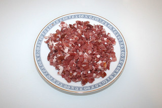 04 - Zutat Speckwürfel / Ingredient bacon dices