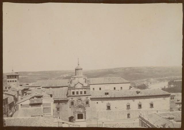 Hospital de Santa Cruz en Toledo hacia 1909