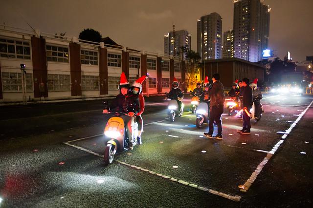 不一樣的聖誕!Gogoro 聖誕騎士夜、一起創造聖誕騎蹟! @3C 達人廖阿輝