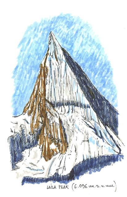 Laila Peak (6.096 m.s.n.m.)