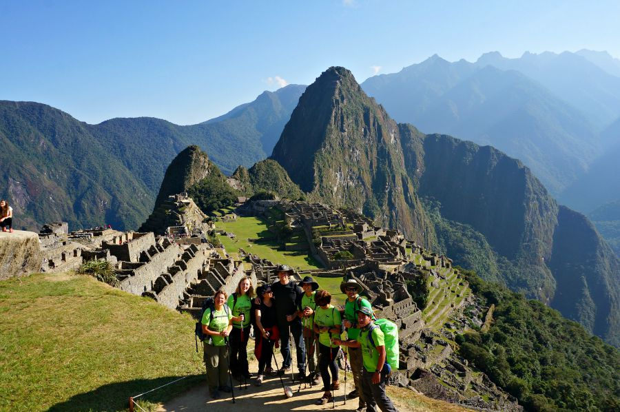 Machu Picchu peak