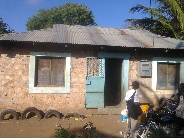 The Swahili House where Abdullah has a room