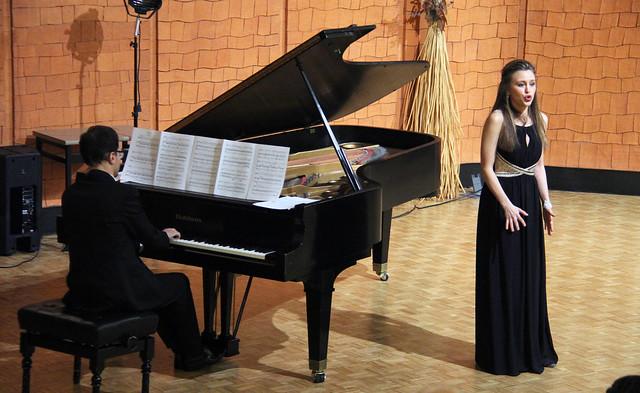 "ROCÍO PÉREZ, SOPRANO & JESÚS L. BLANCO, PIANO - AUDITORIO ""ÁNGEL BARJA"" 19.1.16"