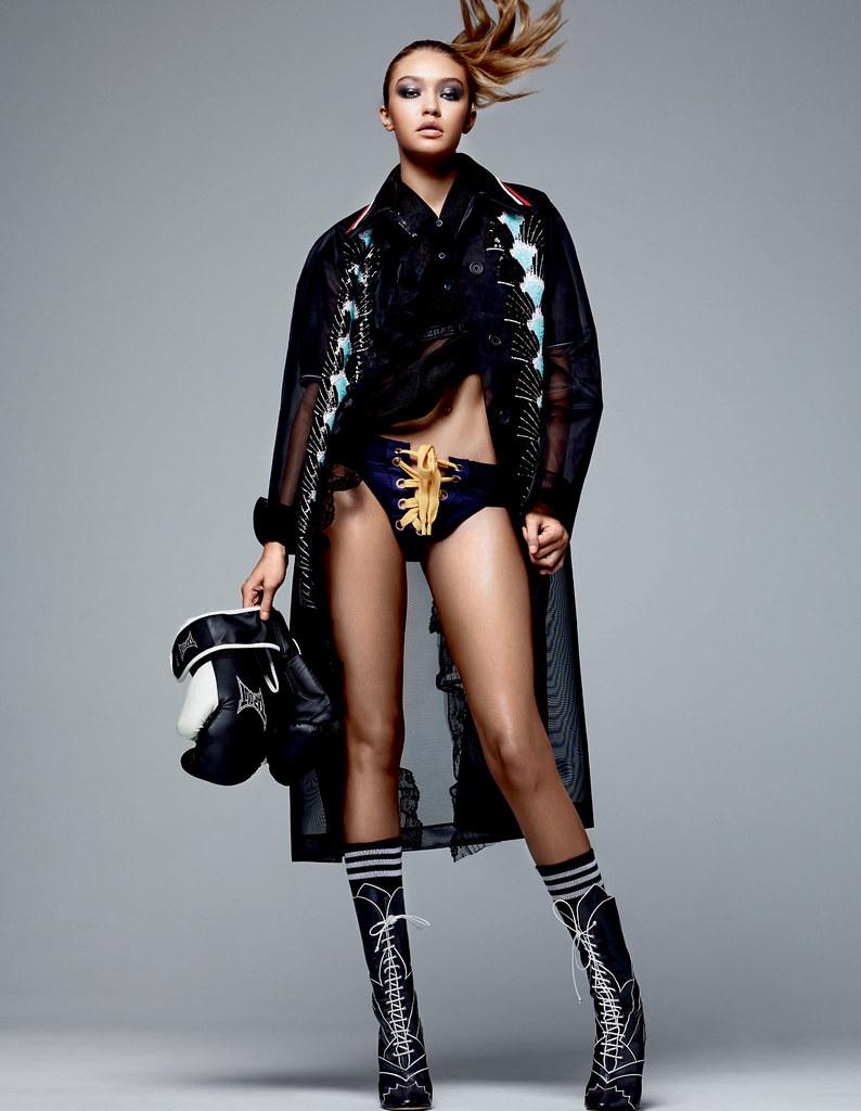 Джиджи Хадид — Фотосессия для «Vogue» CH 2016 – 9