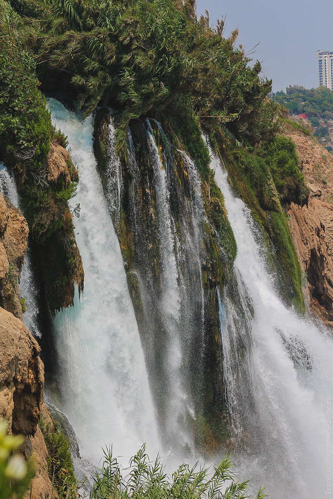 Duden Waterall, Antalya / Водопад нижний Дюден, Анталия