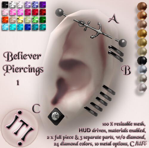 !IT! - Believer Piercings 1 Image