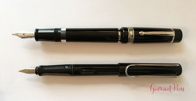 Review GoldPen Delta Mezzanotte Fountain Pen Review (11)