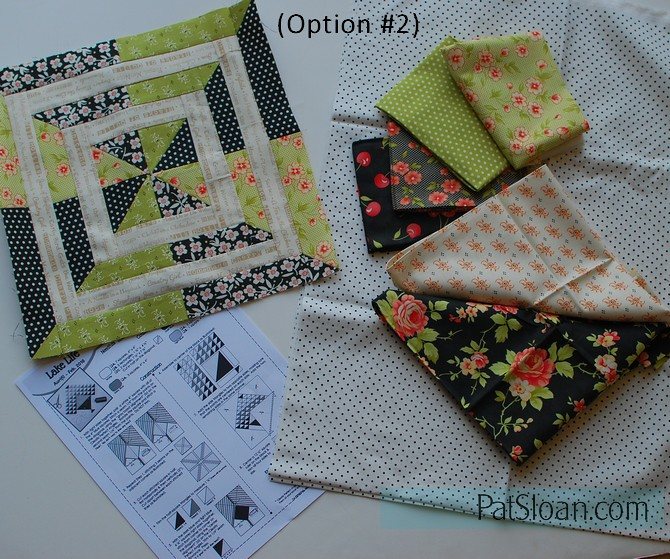 pat sloan aurifil block 2 option 2