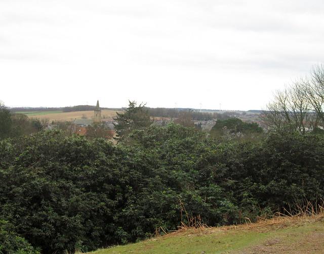 landscape - Markinch in Fife