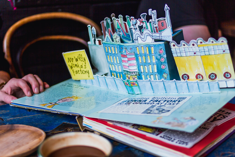 pop up book chocolate cafe cool places in manchester