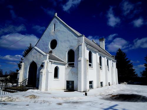 winter ontario canada church hiver église roebuck unitedchurchofcanada roebuckunitedchurch