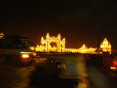 Mysore Palace: Attempted Photographs