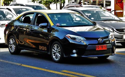 Toyota Corolla Taxi - Santiago, Chile