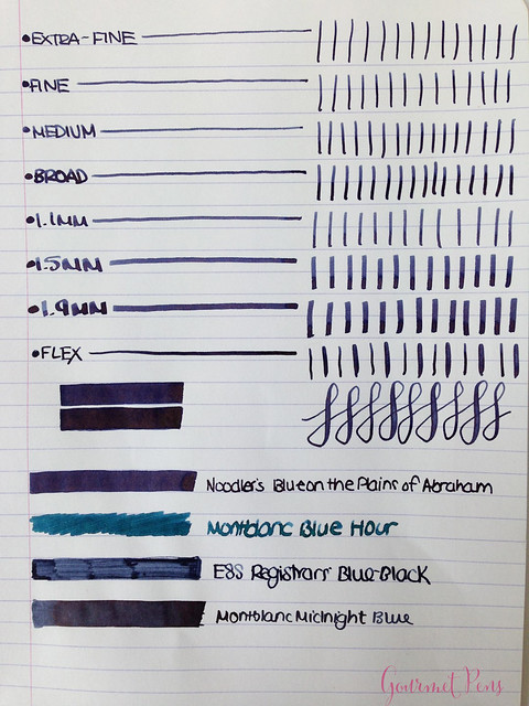 Ink Shot Review Noodler's Blue Upon The Plains of Abraham @CarolLuxury (6)