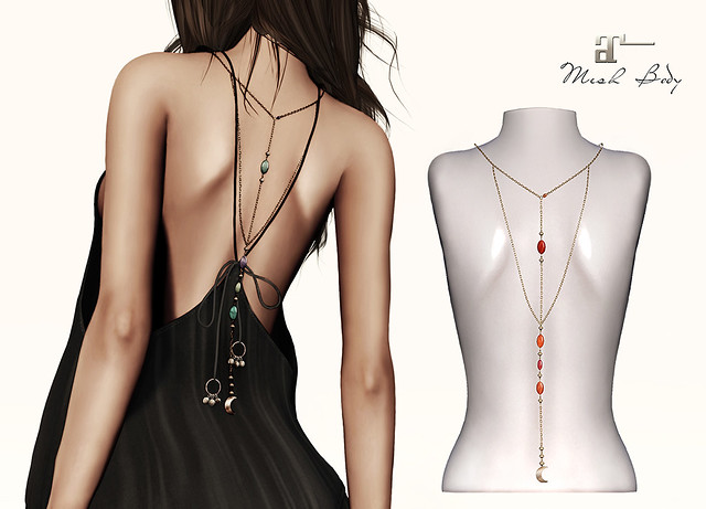Maitreya Back Necklace