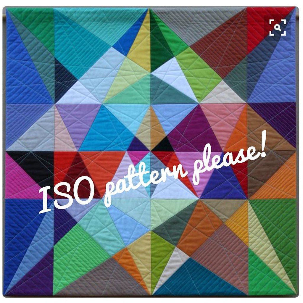 "I've seen this on Pinterest labeled as ""Portal"" by Susan Wessels. Has anyone seen a pattern for this or a similar one? Any size is fine. I just need a place to start. Thanks!! #iso #pattern #quiltpattern"