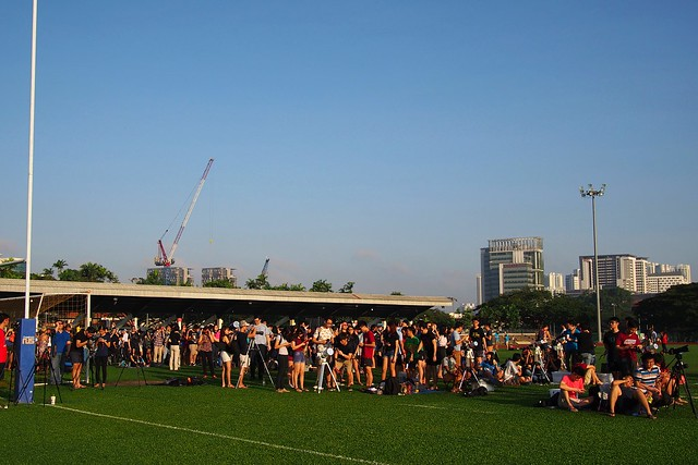 (March 2016), National University of Singapore football field