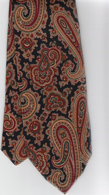 My husband's paisley-tie