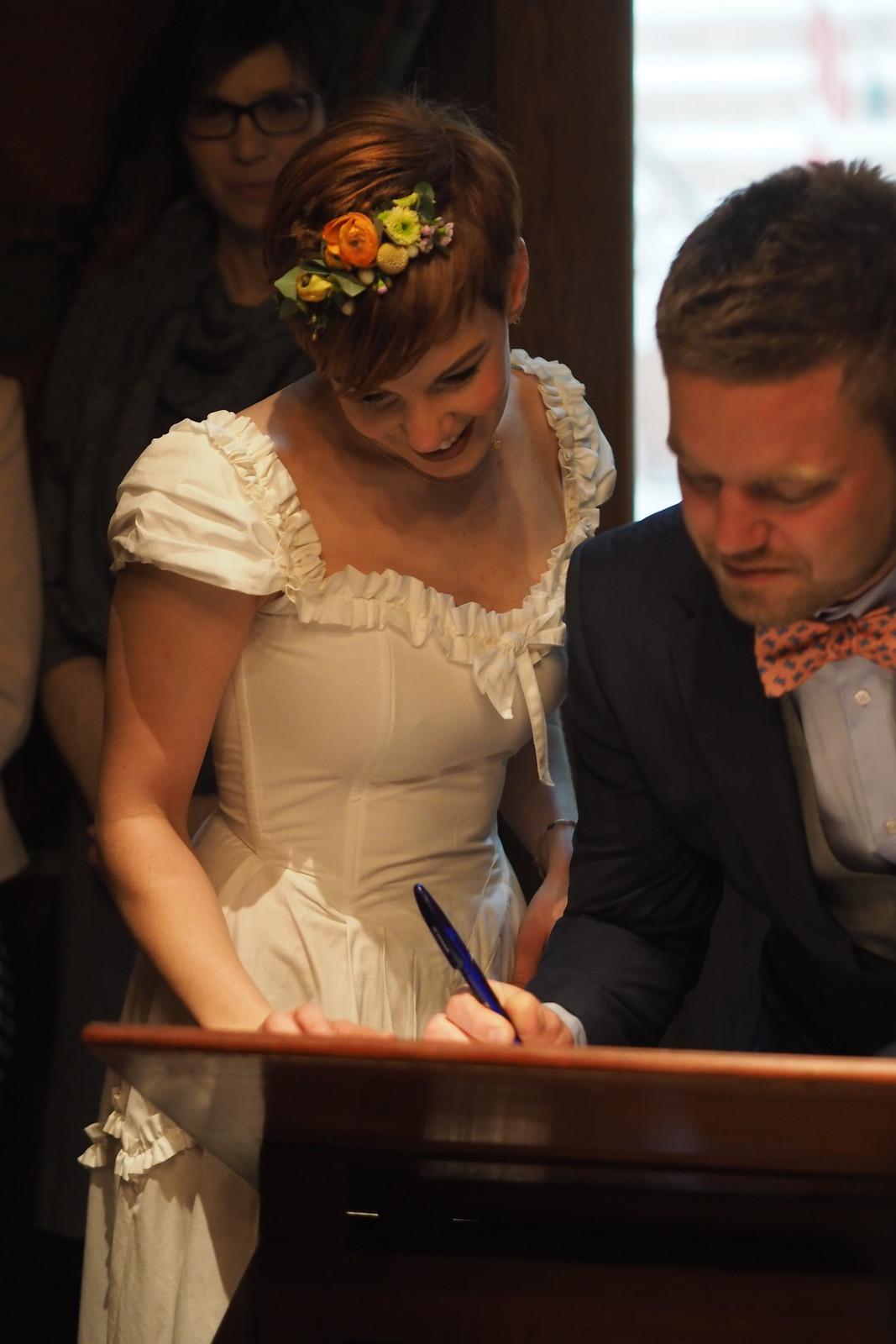 Troels og Clarissas bryllup