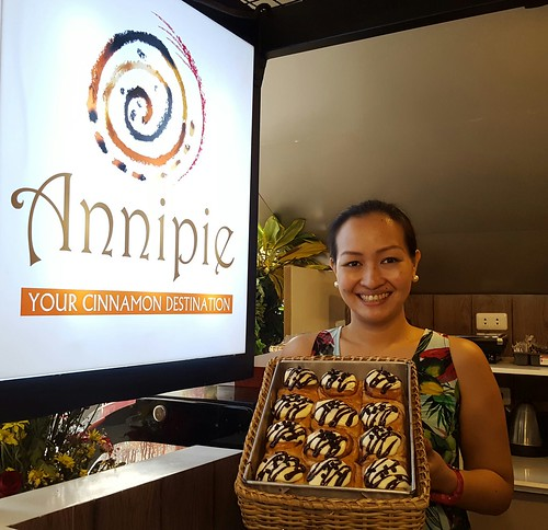 Andrea Socorro Partoza Anonuevo of Annipie: Your Cinnamon Destination in Davao Opens at SM Lanang Premier - DavaoFoodTripS.com