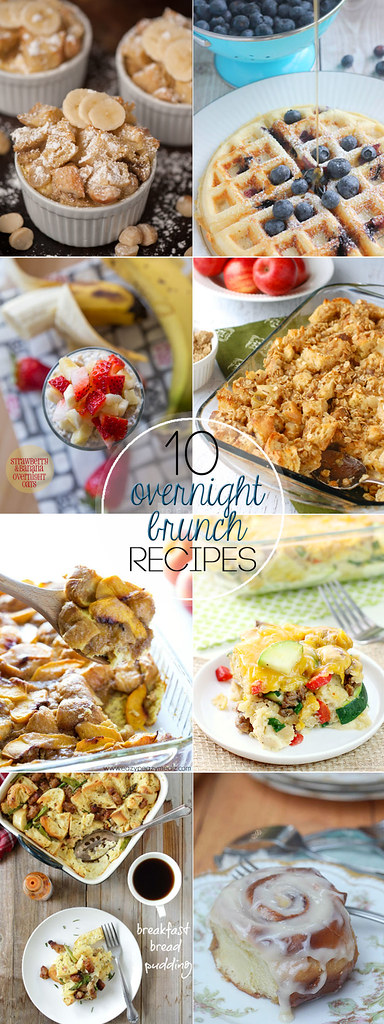 10 Overnight Brunch Recipes from your favorite food bloggers!