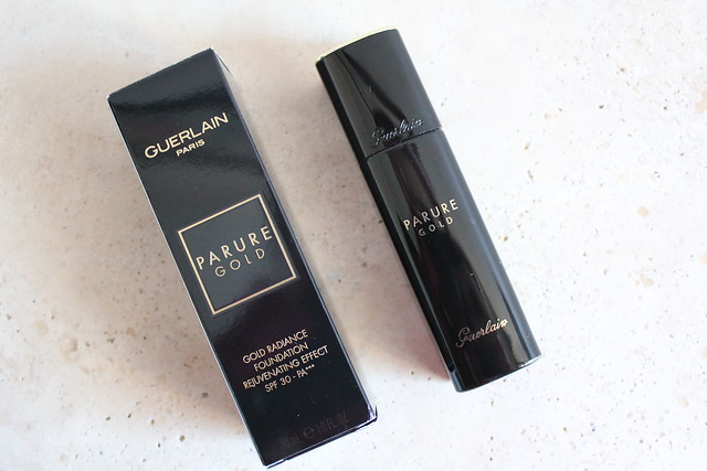 Guerlain Parure Gold liquid Foundation review