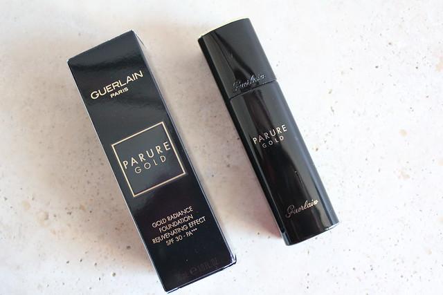 make up guerlain parure gold