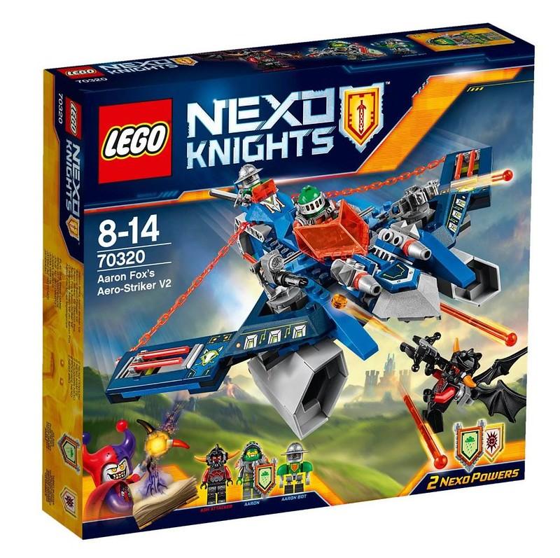 LEGO Nexo Knights 70320 - Aaron Fox's Aero-Striker V2