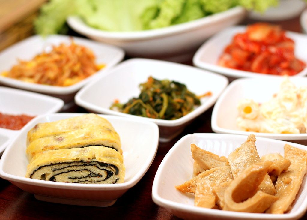 Korean BBQ Singapore: Guiga Egg Rolls