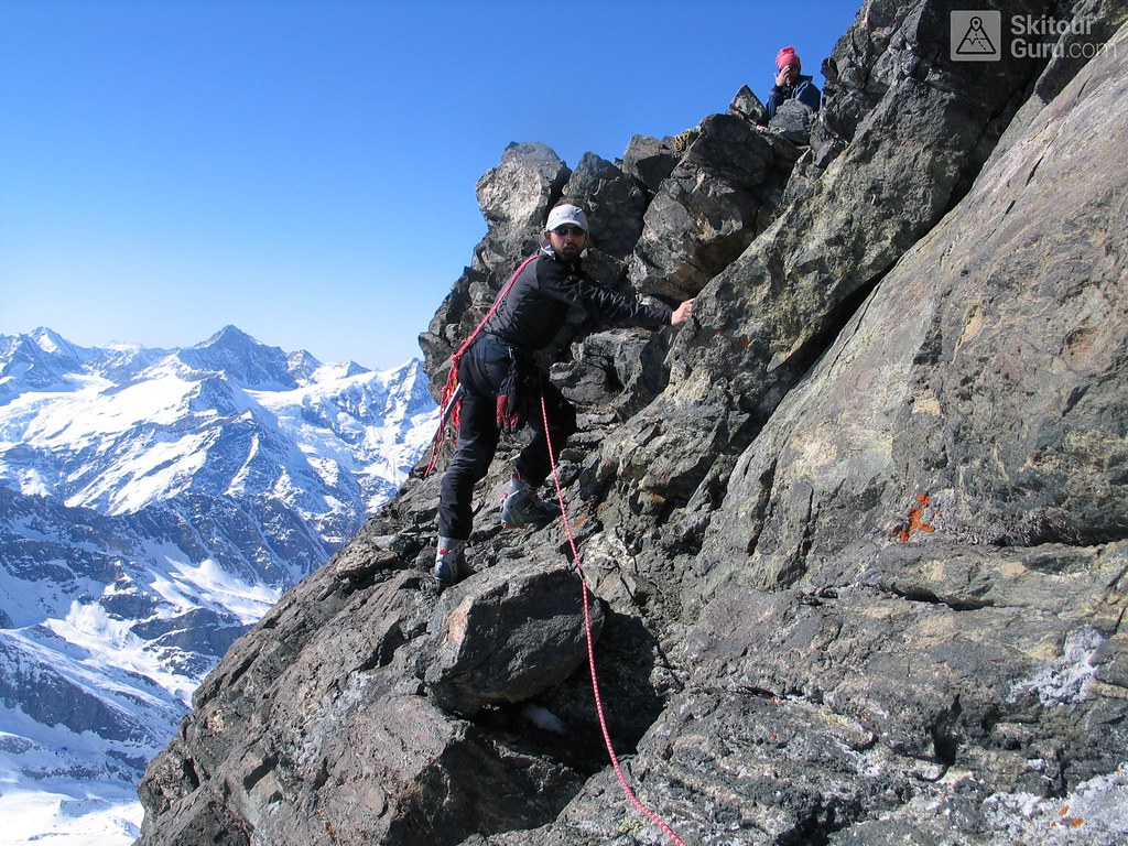 Rimpfischhorn Walliser Alpen / Alpes valaisannes Switzerland photo 21