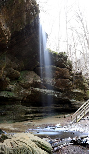 park ohio waterfall big state falls mohican lyons