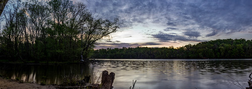longexposure trees light sky sun lake reflection nature water colors clouds sunrise river dark landscape us nc scenery unitedstates northcarolina mtholly mountholly gastoncounty