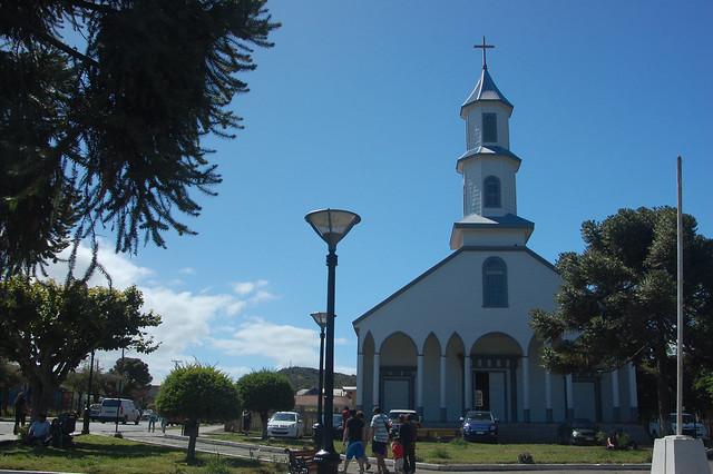 Iglesia de Nuestra Señora de los Dolores, Dalcahue, Chiloé, Chile