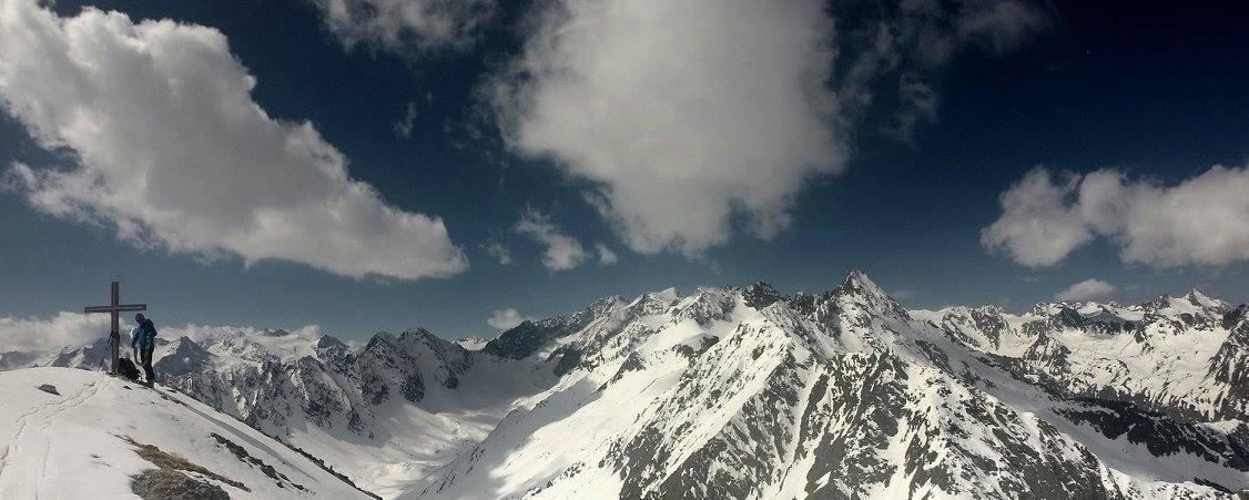 Östliche Seespitze (3.416m), Basslerin (2.829m), 11.-12.4.2016