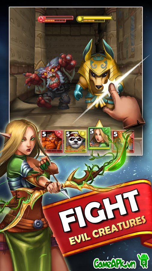 Dungeon Monsters v2.0.518 hack full cho Android