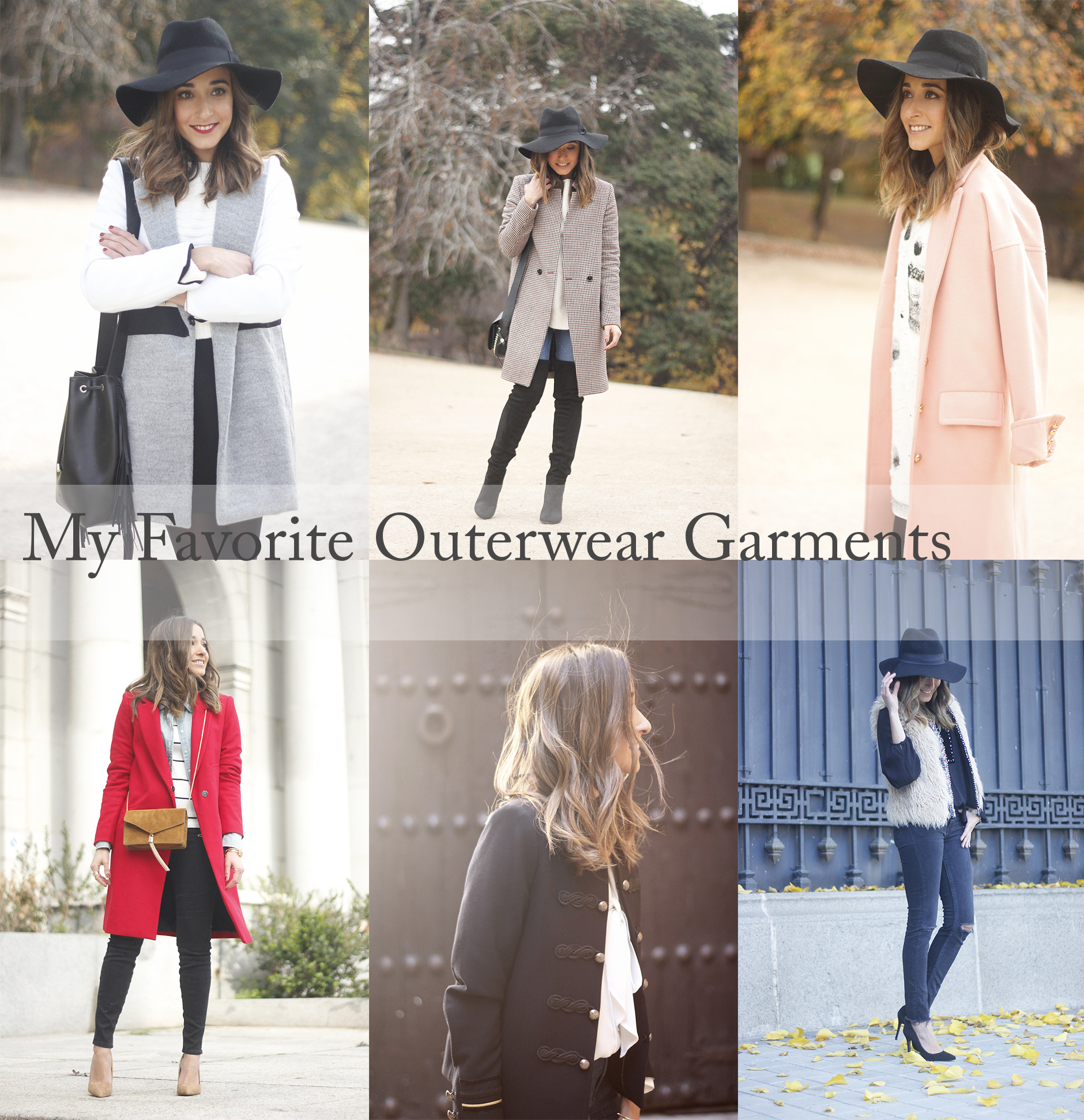 my favorite outerwear garments